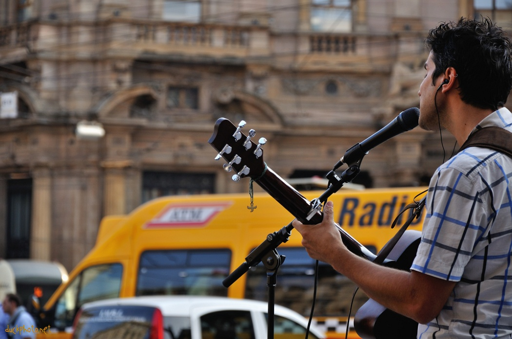Guitarist in Milano